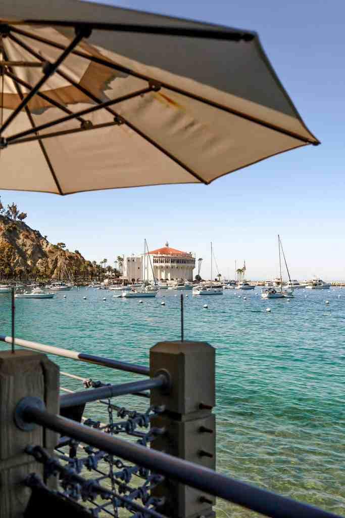 bluewater avalon restaurant view
