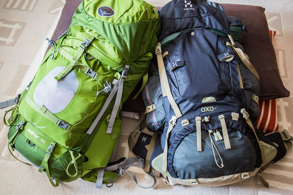 Packa ryggsäcken