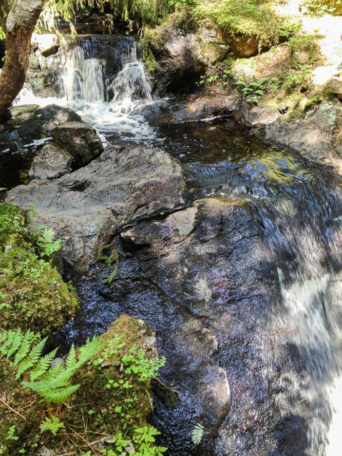 Vattenfall i Trolldalsbäcken