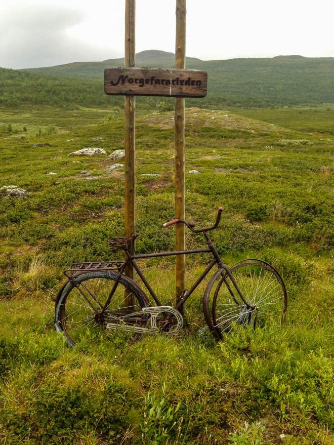 Cykel på Norgefararleden