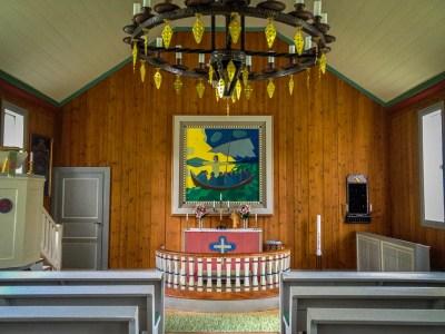Koret i Ankarede kapell.