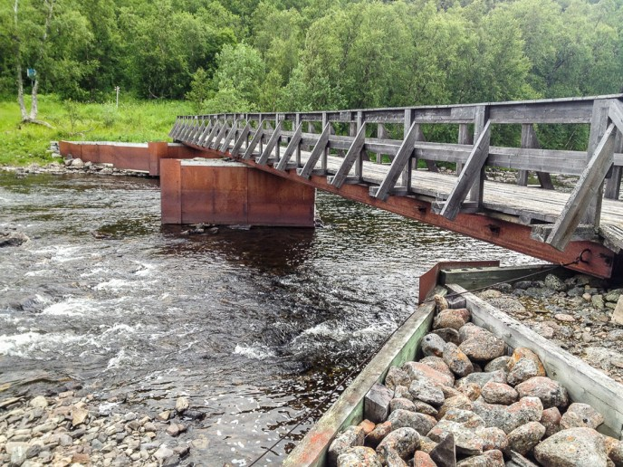 Bron över Raukaselet