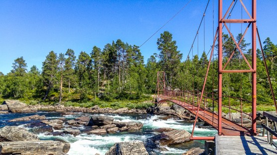 Bron över Laisälven