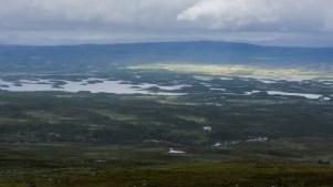 Utsikt över Tärnasjön