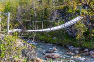 Bron över Vuomajohka