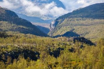 Riksröse 272 framför Sørdalen