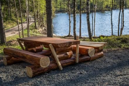 Nytt bord vid Ängsjön