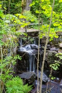 Vattenfall vid Velamshyttan