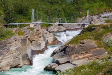 Bron över Låddejåhkå