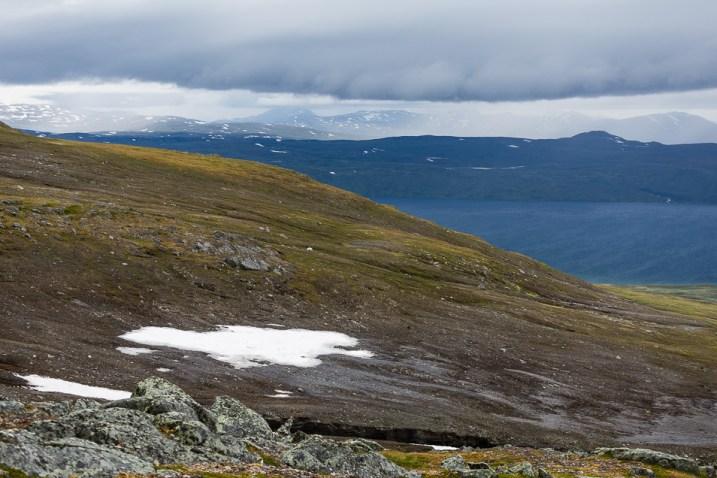 Utsikt från Mullkas förtopp