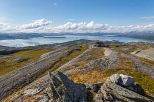 Utsikt från Stuor Dijdder