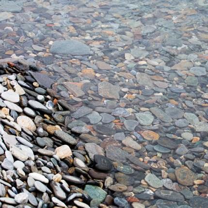 Runda stenar i Torneträsk