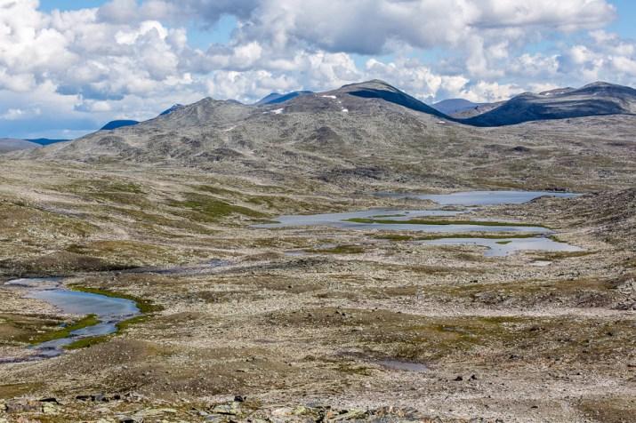 Platån norr om Vaimok