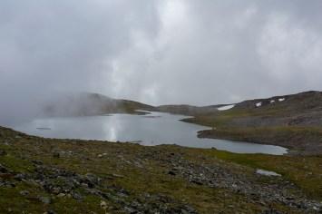 Dimmigt vid sjön 1022