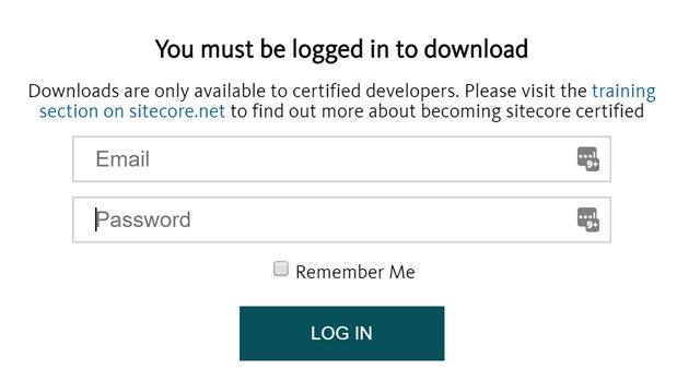 sitecore-login-screen