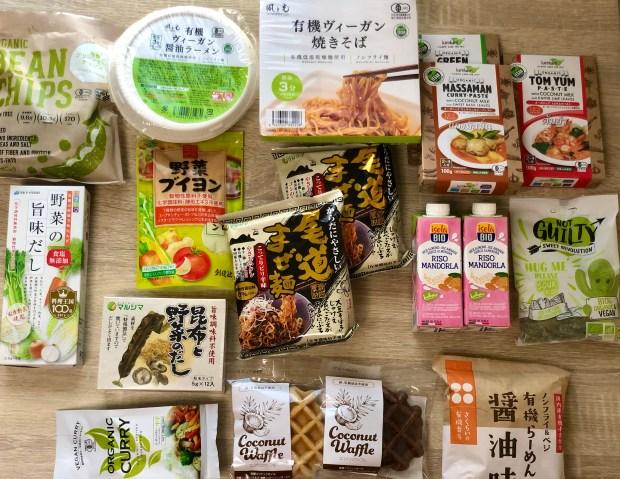 vegan grocery in japan