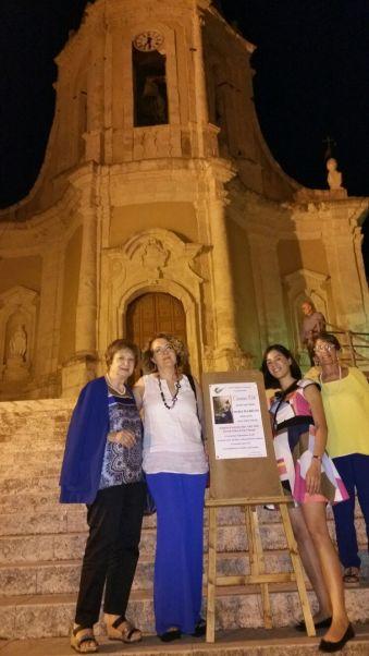 Da sinistra: Anna Pia Peritore, Anna Maria Miceli, Mariapia Bruno, Maria Alfano