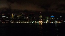 But Boston's pretty at night, too; I suggest the view by boat.
