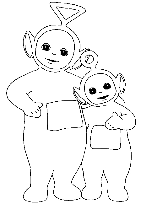 Teletubbies Coloring Pages Free Printable Coloring Pages