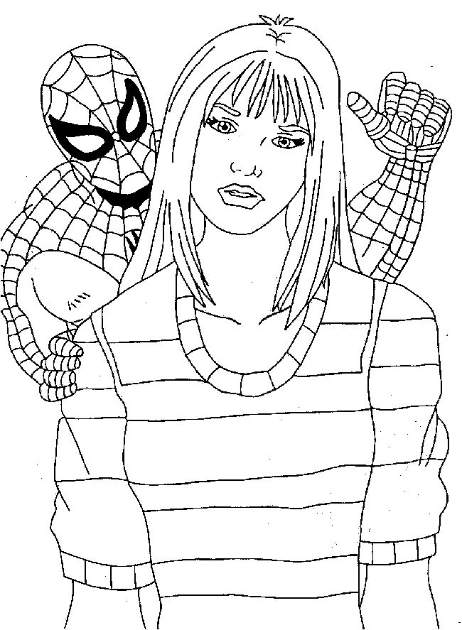 Spiderman Coloring Pages Kids Coloring Pages Free
