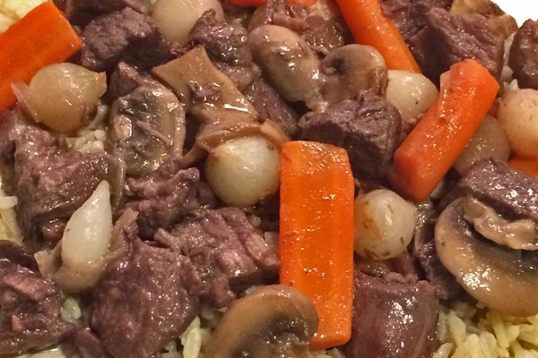 Mary Ellen's Beef Bourguignon
