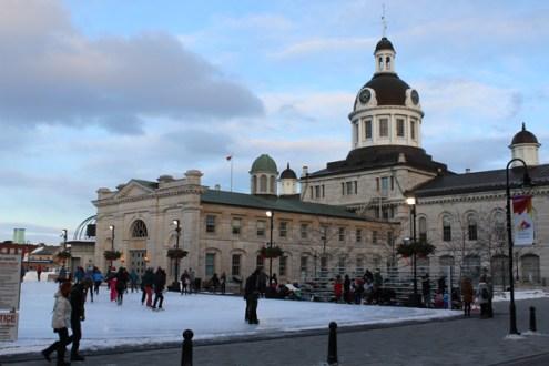 Kingston City Hall & skating rink
