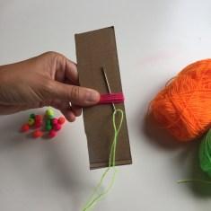 pasamos una lana por uno de los extremos