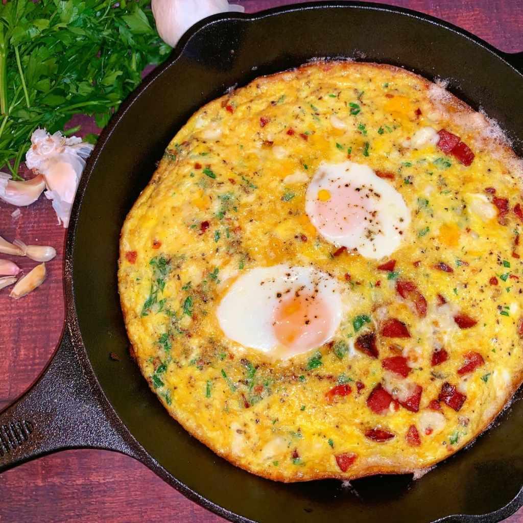 easy breakfast frittata recipe