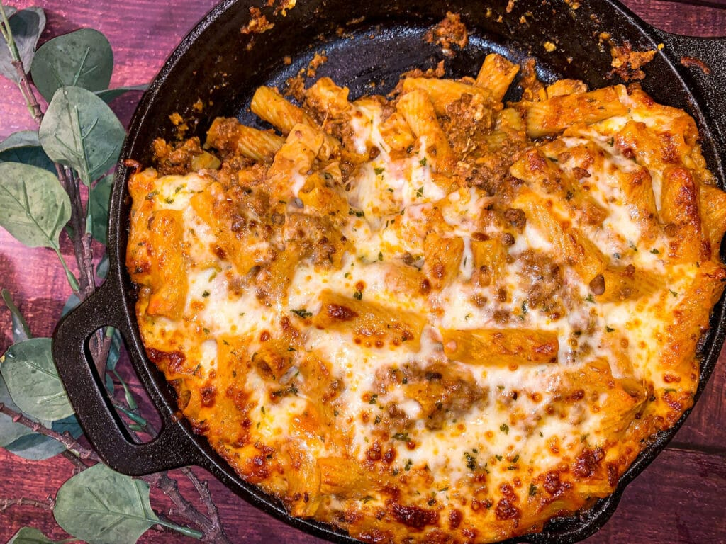 ultimate baked ziti recipe