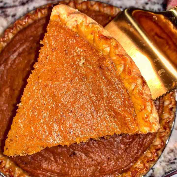 Southern Brown Butter Sweet Potato Pie Recipe