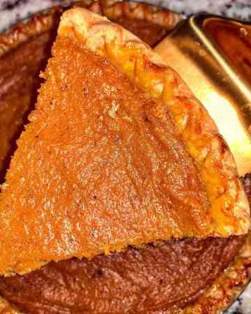 Southern Brown Butter Sweet Potato Pie Recipe