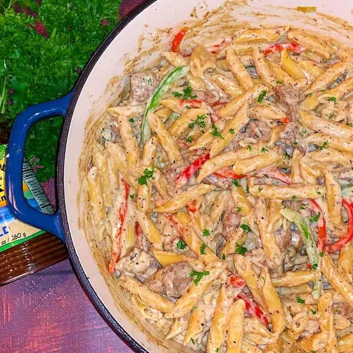 rasta pasta with chicken recipe