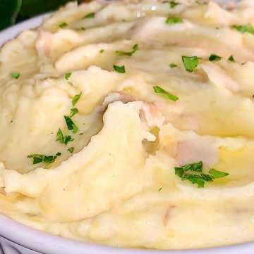 mash potatoes recipe