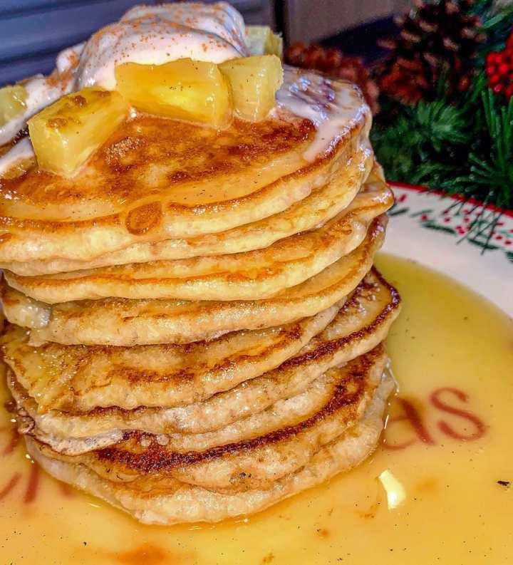 pineapple-upside-down-pancakes recipe