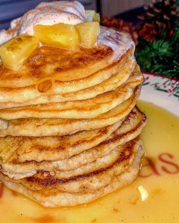 pineapple-upside-down-pancakes recipe