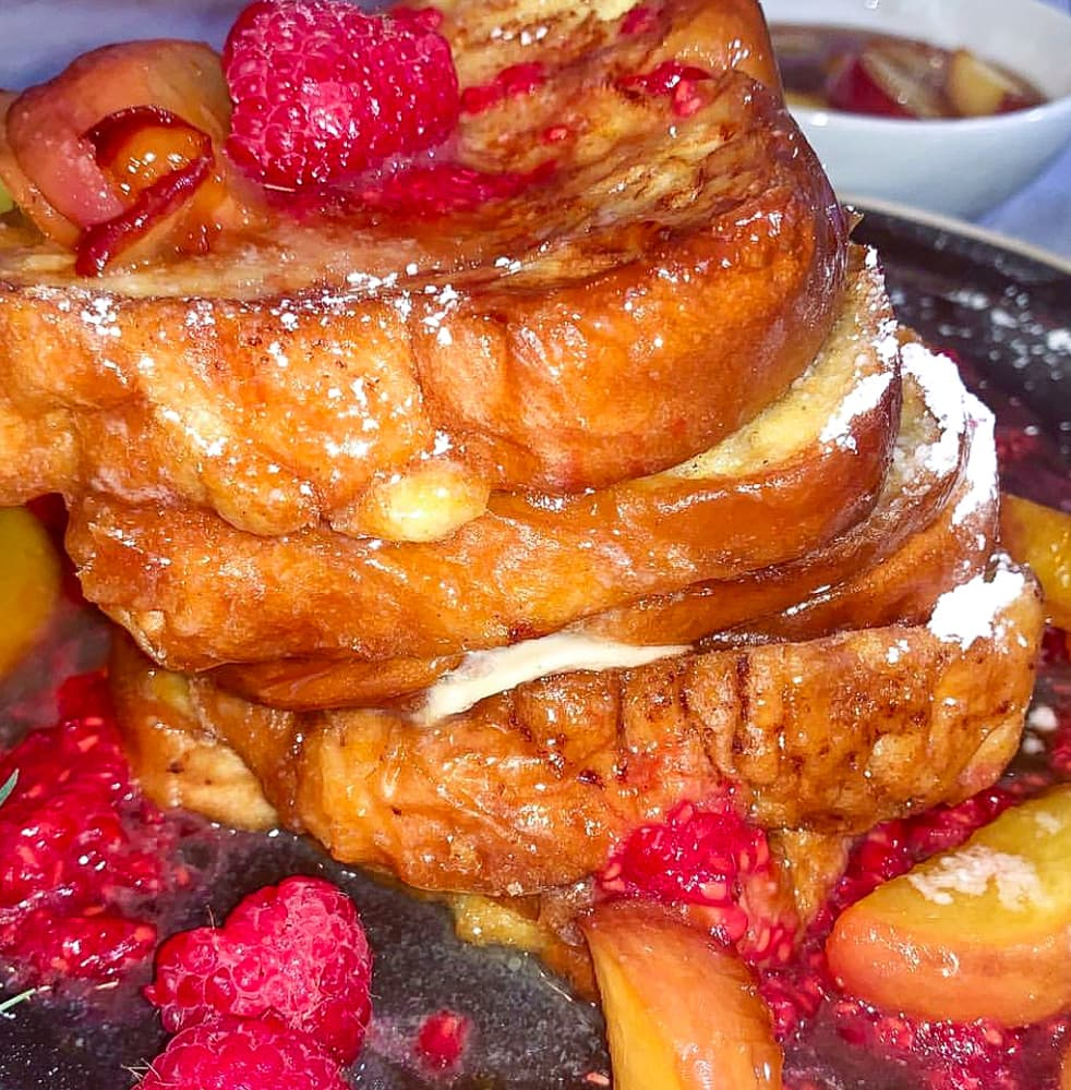 raspberry French toast recipe