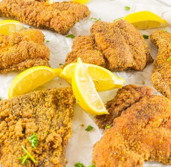 southern fried catfish recipe