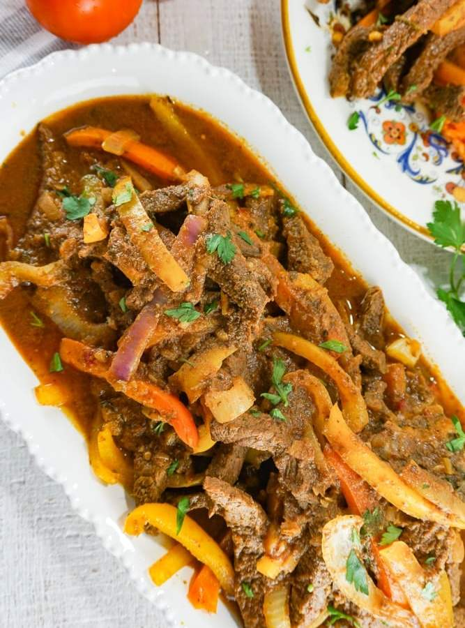 pepper steak recipe