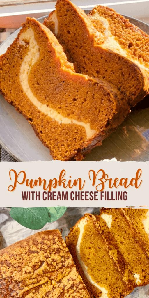Pumpkin Bread Cheesecake Filling - Lets Eat Cuisine