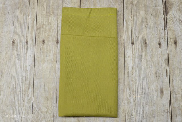 Learn how to fold a pocket napkin, and then personalize it using the #CricutExplore and iron-on!