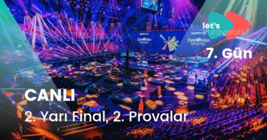 """#Eurovision2021: Provalar Devam Ediyor """"2.Yarı Final 2.Bölüm"""" – 7.GÜN (CANLI)"""