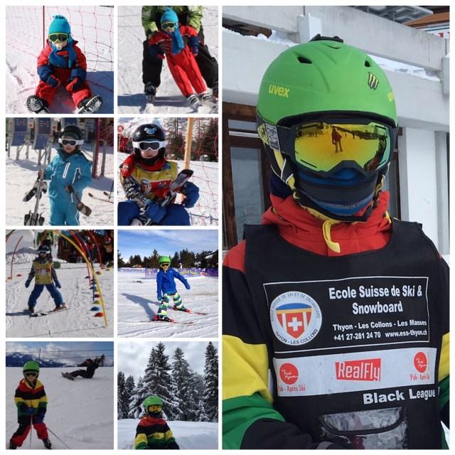 Skiing through the years