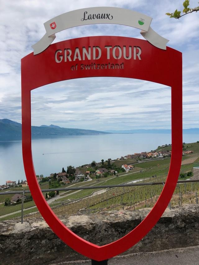 Lavaux vineyards Grand Tour of Switzerland