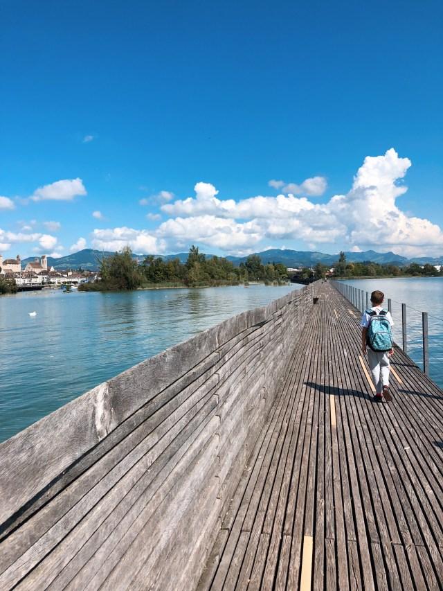 Rapperswill Holzbrücke
