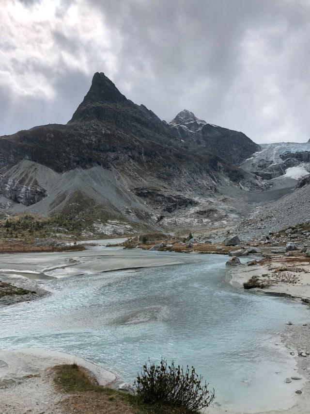 Ferpècle hike Valais