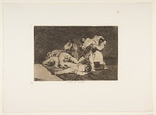 """""""It Will Be The Same"""" from Goya's """"Disasters of War"""""""
