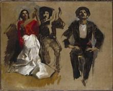 John Singer Sargent's El Jaleo