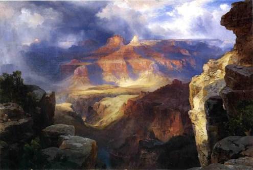 """Thomas Moran's """"A Miracle of Nature"""""""