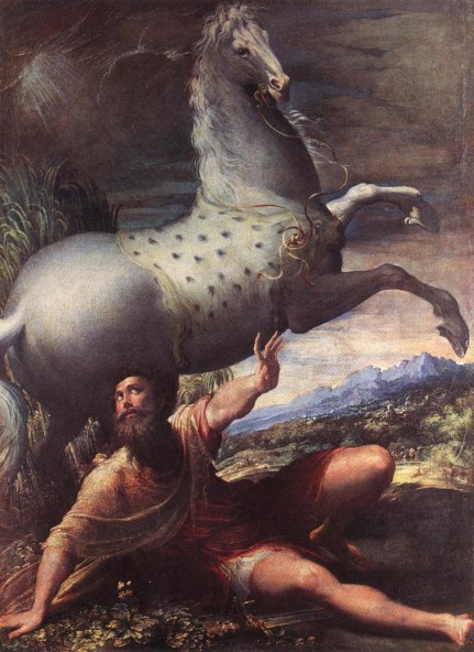 "Parmigianino's ""The Conversion of St. Paul"""