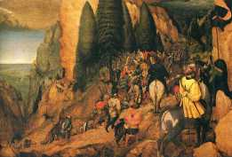 "Pieter Bruegel the Elder's ""Conversion of St. Paul"""